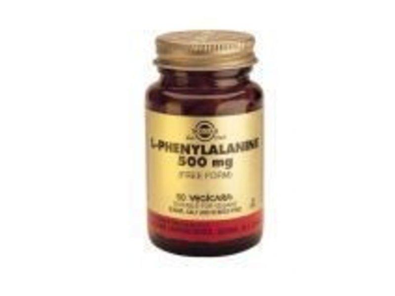 Solgar Solgar L-Phenylalanine 500 mg plantaardige capsules