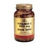 Solgar Solgar Vitamin C with Rose Hips 500 mg tabletten