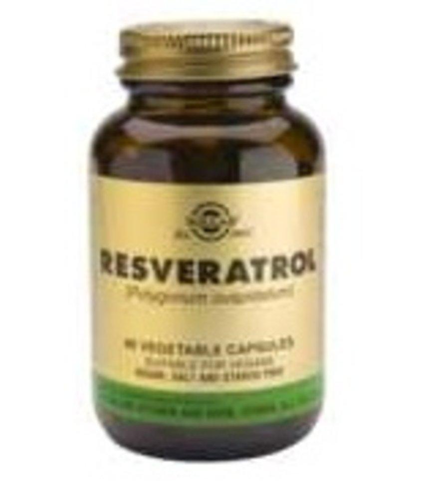 Solgar Solgar Resveratrol plantaardige capsules
