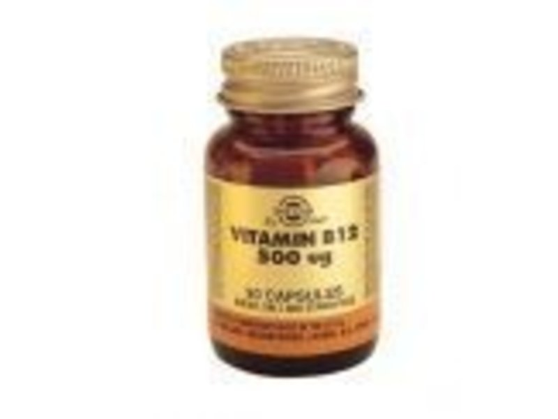 Solgar Solgar Vitamin B-12 500 åµg