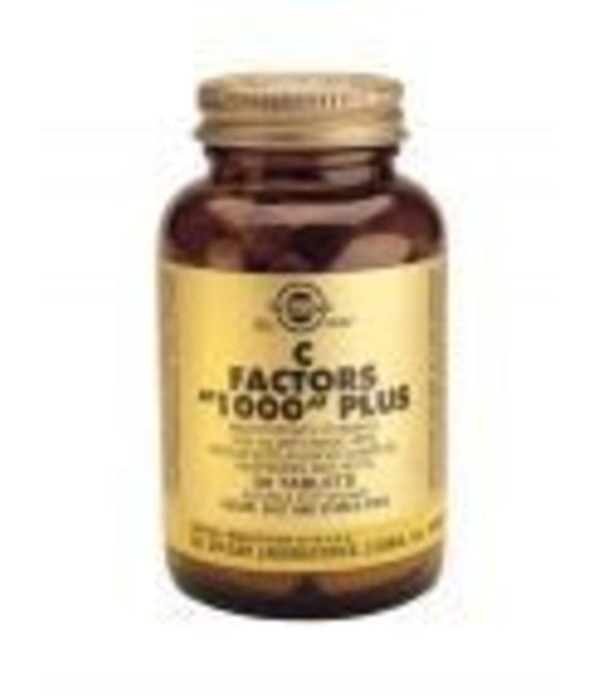 Solgar Solgar C-Factors 1000 Plus tabletten