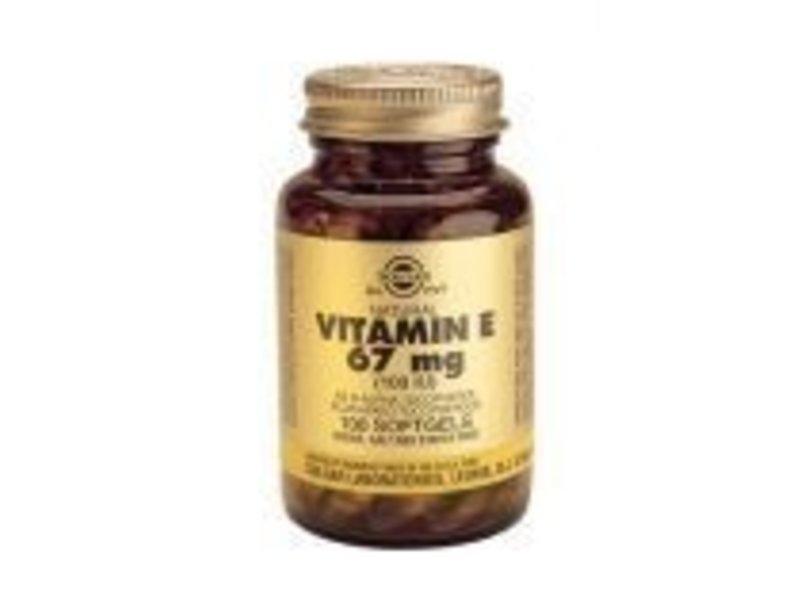 Solgar Solgar Vitamin E 67 mg/100 IU Complex softgels