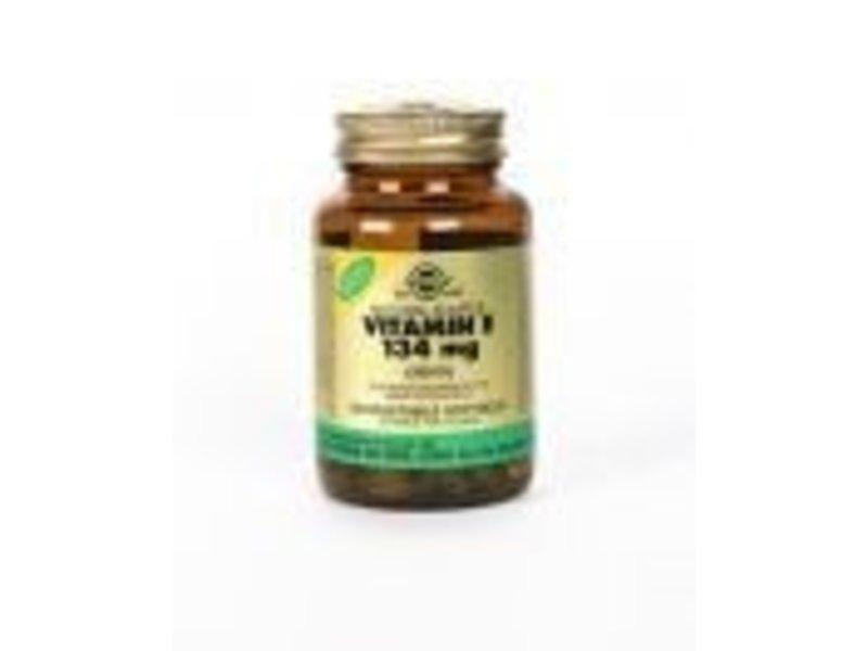 Solgar Solgar Vitamin E 134 mg/200 IU plantaardige softgels