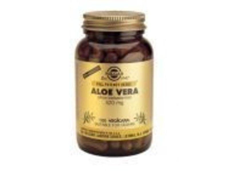 Solgar Solgar Aloe Vera plantaardige capsules