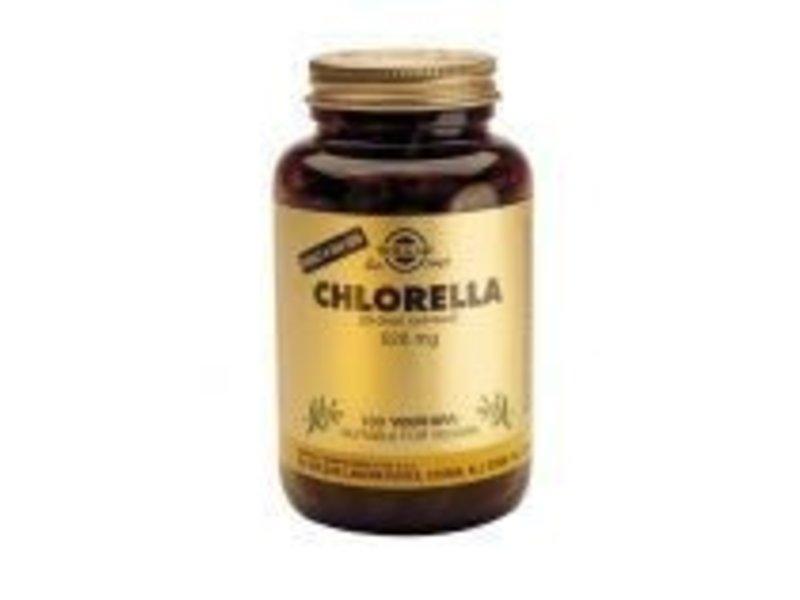 Solgar Solgar Chlorella plantaardige capsules
