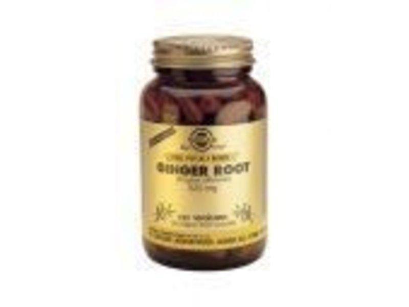 Solgar Solgar Ginger Root Gemberwortel plantaardige capsules