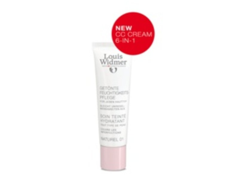 Louis Widmer Louis Widmer CC-cream (getinte dagverzorging UV20) nr. 1 naturel ongeparfumeerd