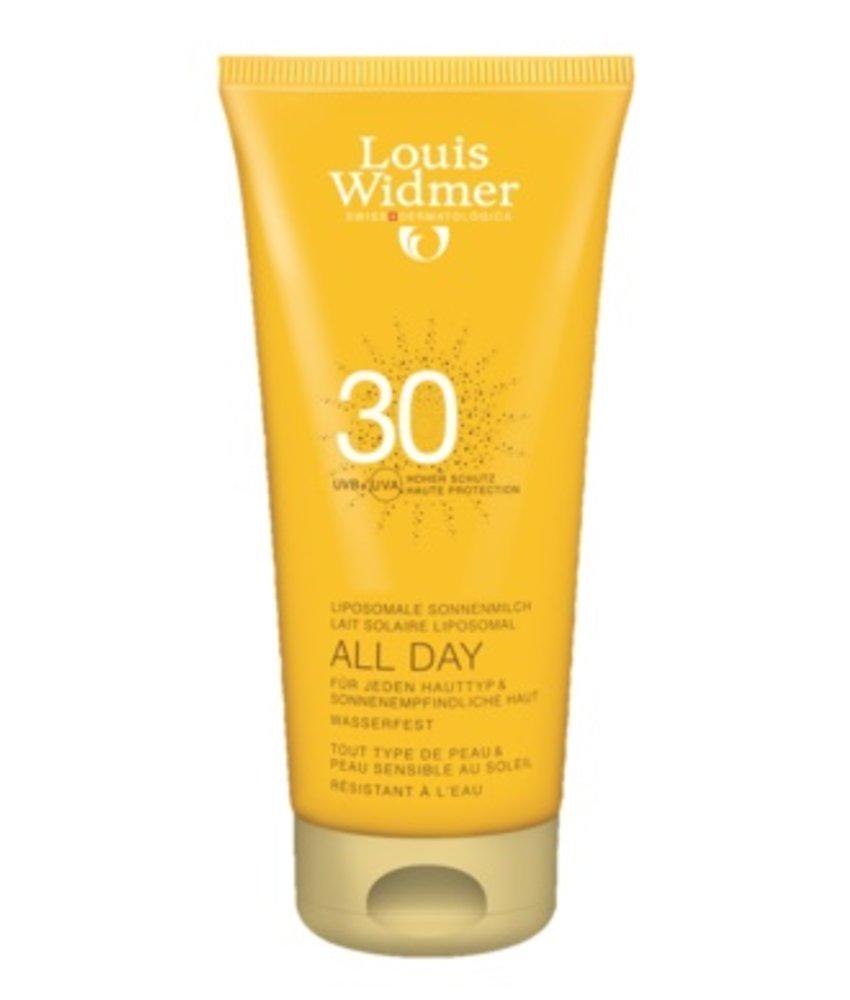 Louis Widmer All Day SPF 30+ licht geparfumeerd