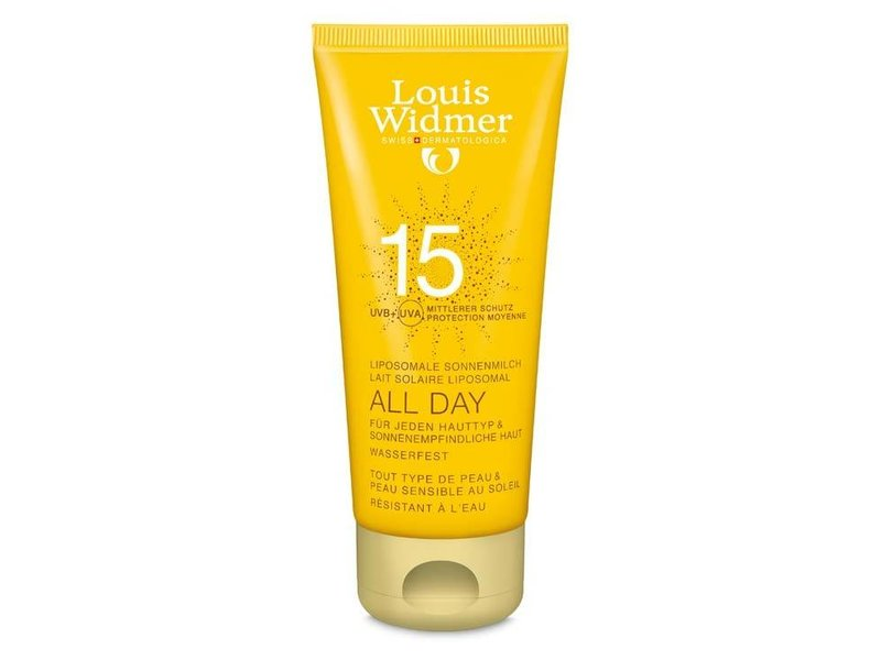 Louis Widmer Louis Widmer All Day SPF 15+ licht geparfumeerd