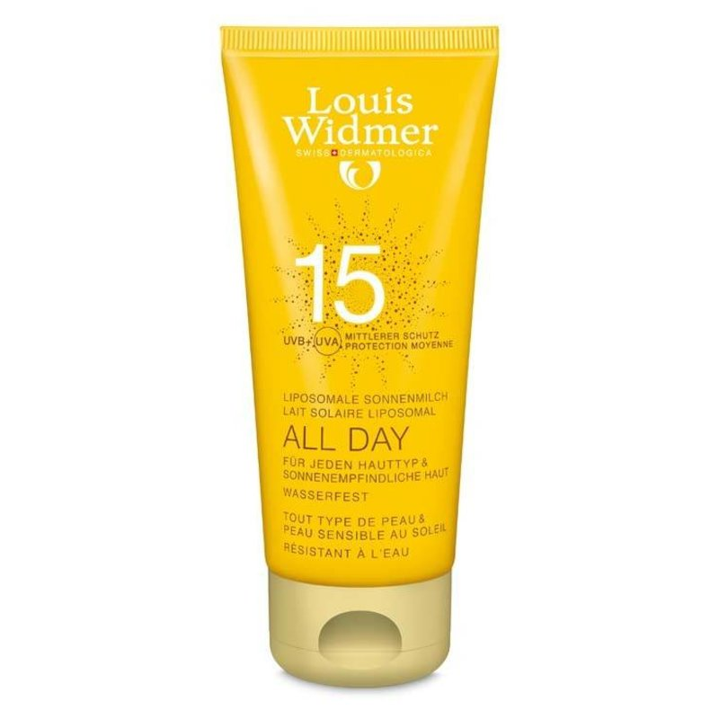 Louis Widmer All Day SPF 15+ ongeparfumeerd