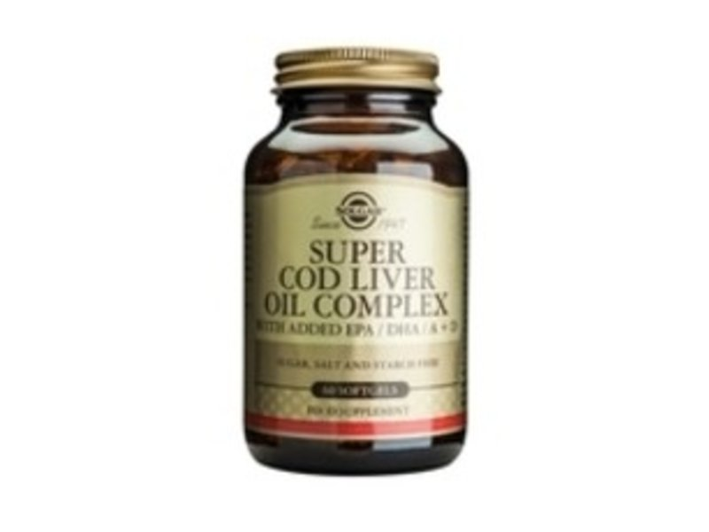 Solgar Solgar Super Cod Livver Oil Complex