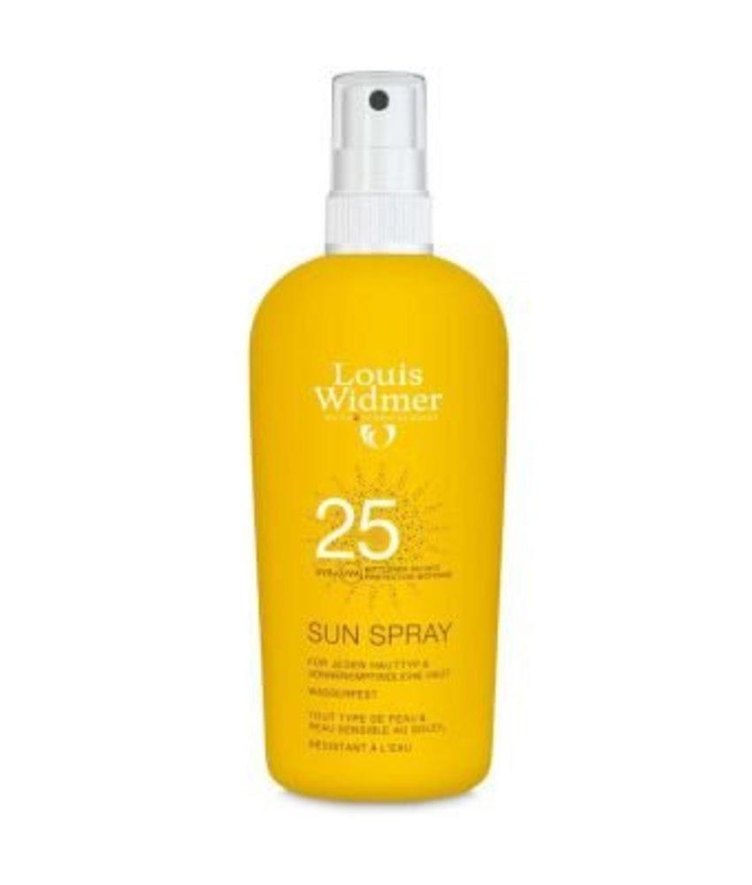 Louis Widmer Sun Spray SPF 25 licht geparfumeerd