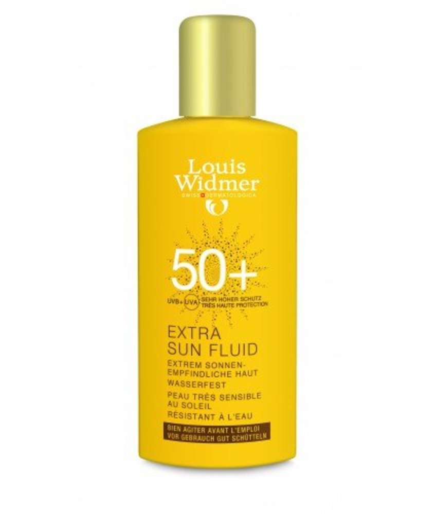 Louis Widmer Extra sun fluid factor 50+ ongeparfumeerd