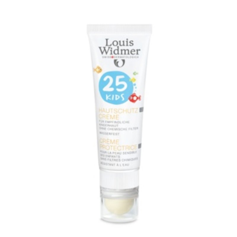 Louis Widmer Kids Protection Cream SPF 25+ plus Lipstick UV30