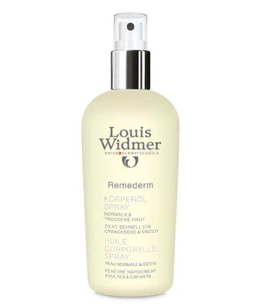Louis Widmer Remederm Lichaamsolie spray