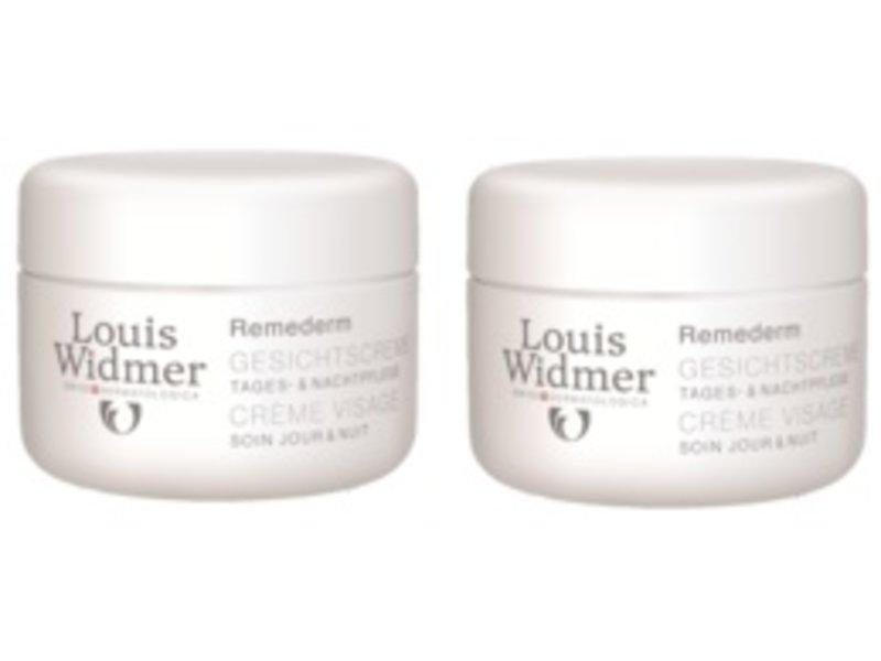 Louis Widmer Louis Widmer remederm gezichtscreme ongeparfumeerd Duoverpakking