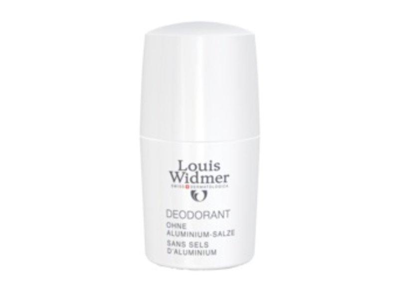 Louis Widmer Deoroller zonder aluminiumzouten ongeparfumeerd