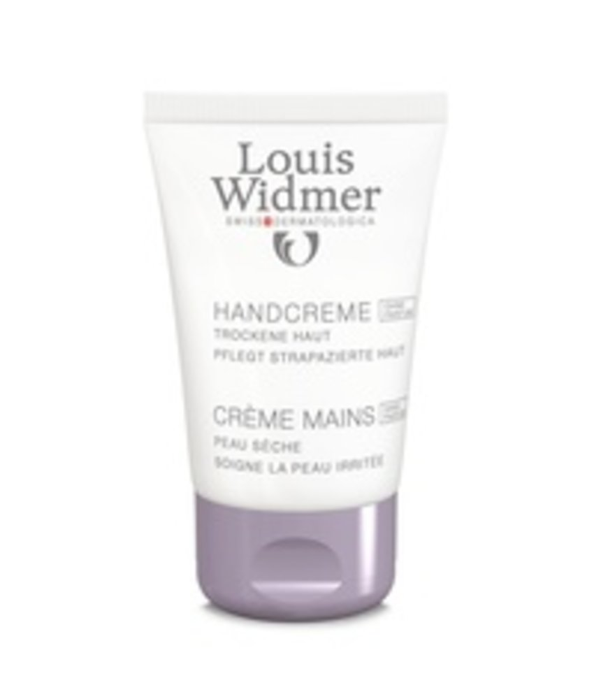 Louis Widmer Hand Creme geparfumeerd
