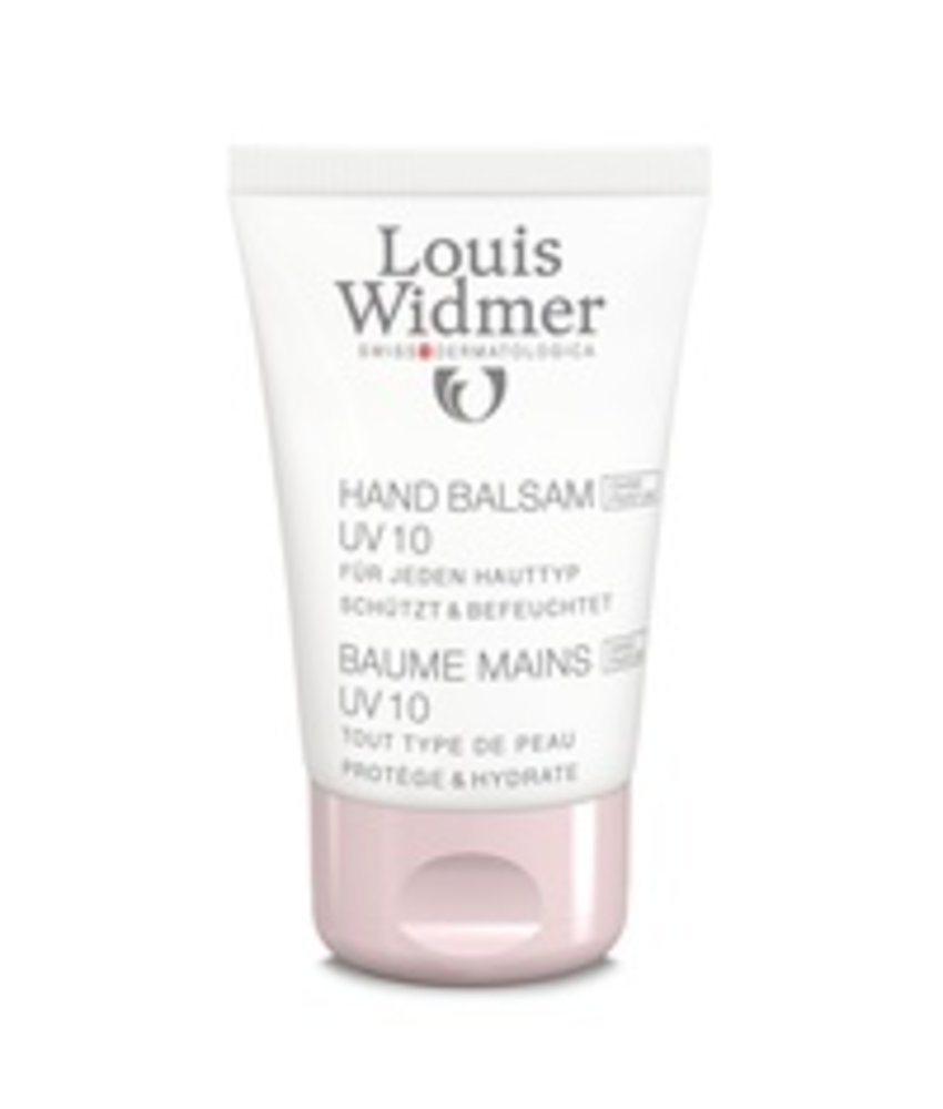 Louis Widmer Hand Balsem UV 10 Geparfumeerd