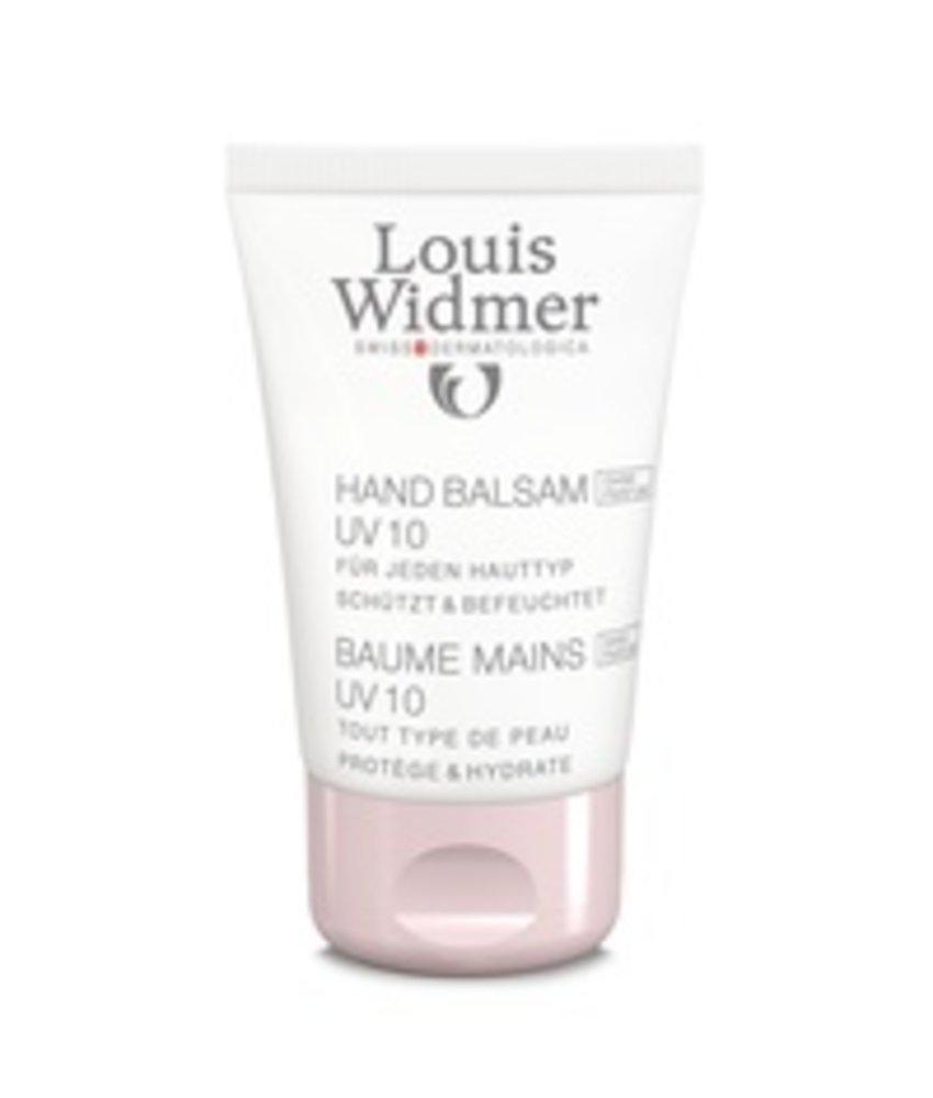 Louis Widmer Hand Balsem UV 10 ongeparfumeerd