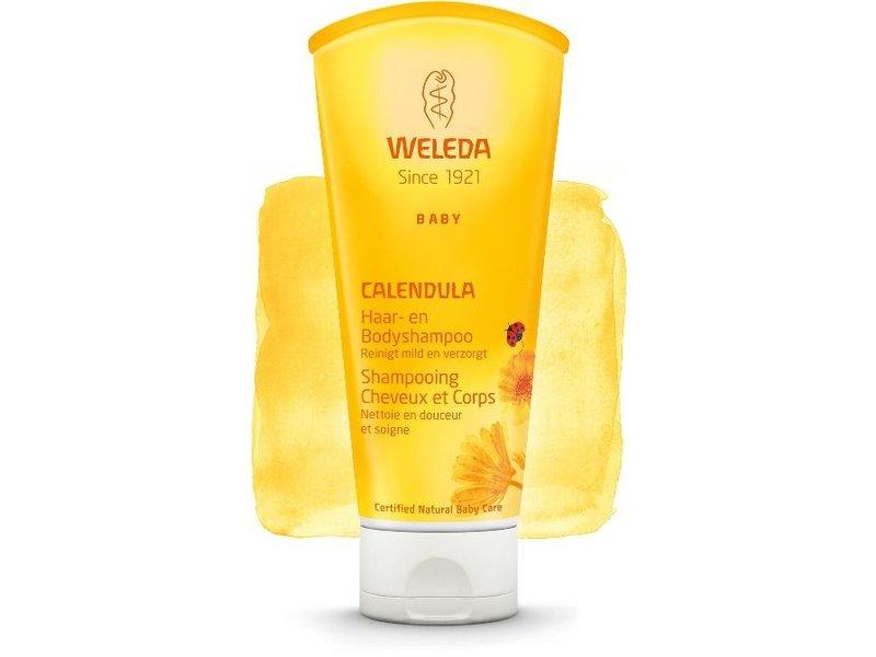Weleda Weleda calendula haar- & bodyshampoo
