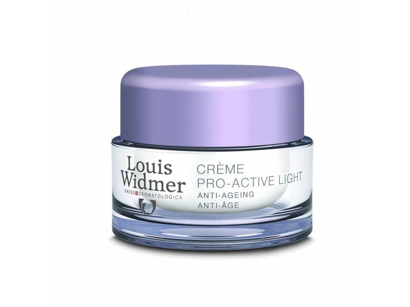 Louis Widmer Louis Widmer Pro Active Cream Light Geparfumeerd mini