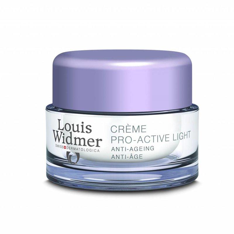 Louis Widmer Pro Active Cream Light Geparfumeerd mini