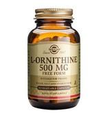 Solgar L-Ornithine 500 mg plantaardige capsules
