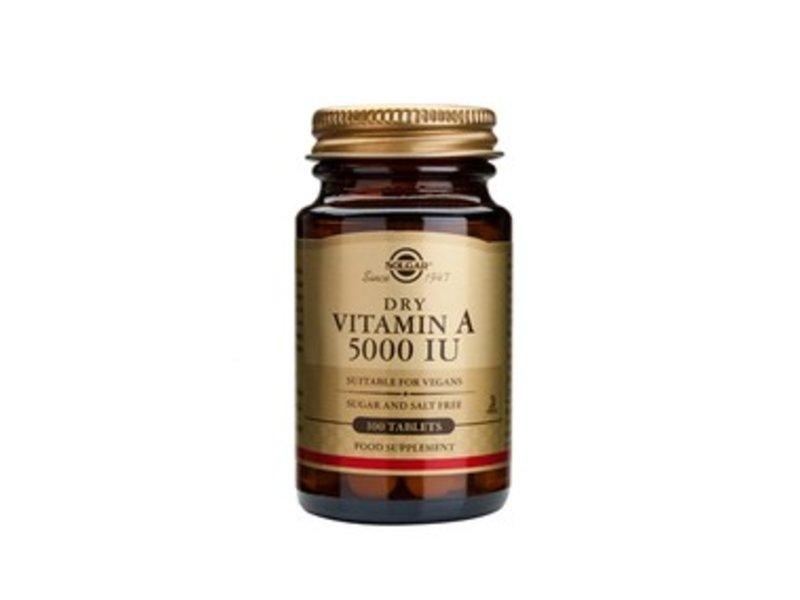 Solgar Vitamin A 5000 IU (1502 µg) tabletten