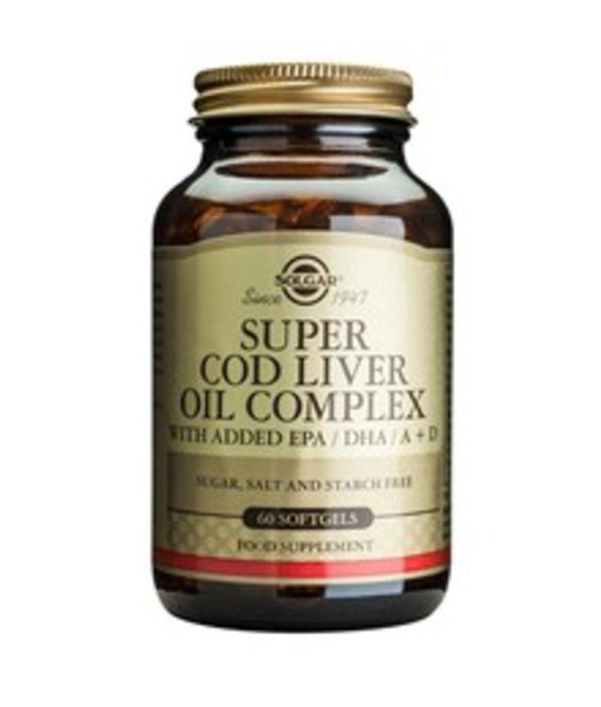 Solgar Super Cod Liver Oil Complex (Levertraan met extra omega-3)