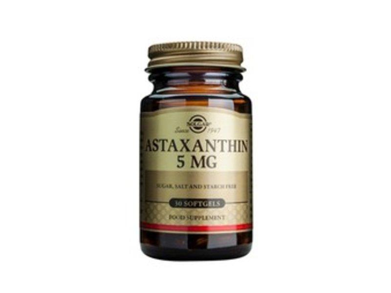 Solgar Astaxanthin 5 mg Softgels