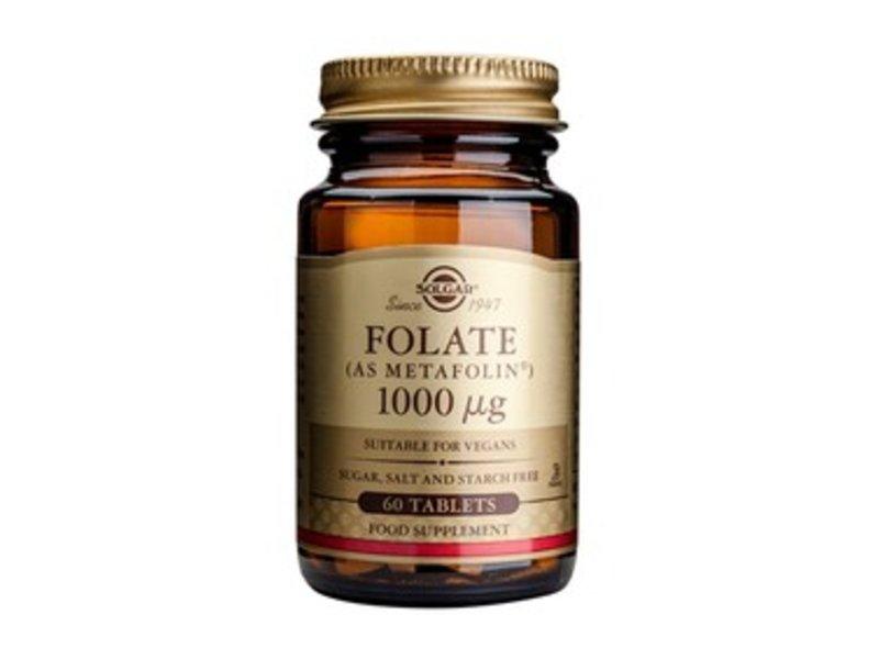 Solgar Folate 1000 µg tabletten