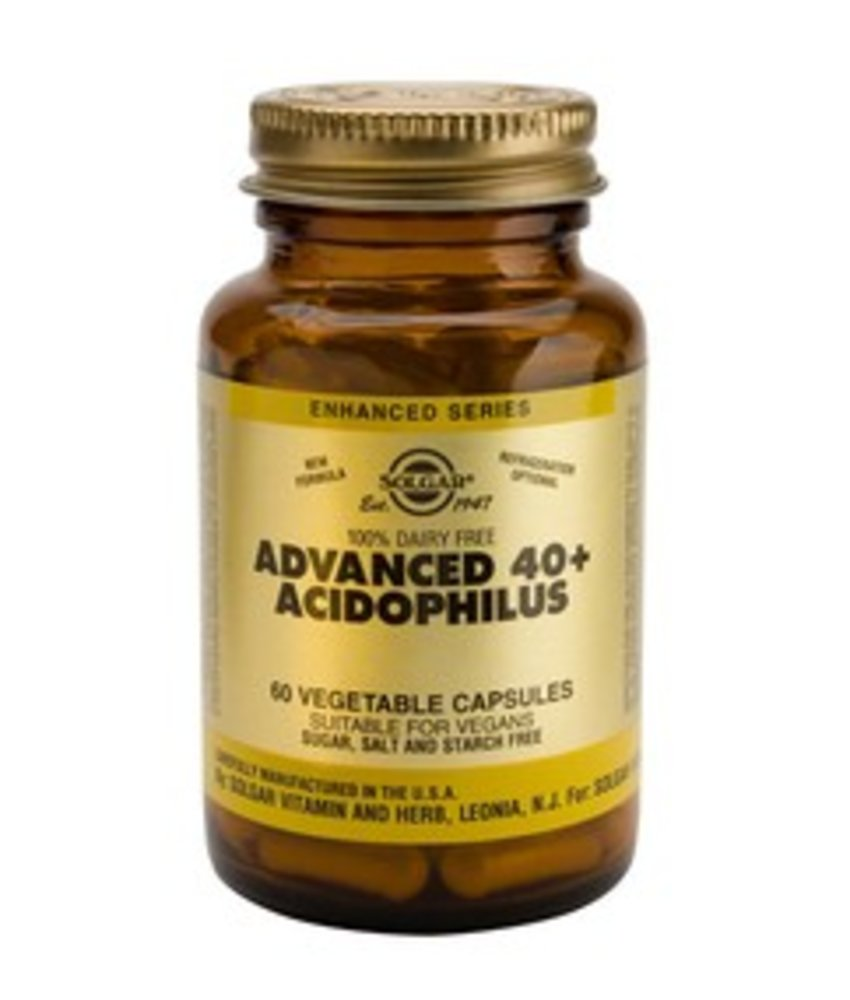 Solgar Advanced 40+ Acidophilus plantaardige capsules