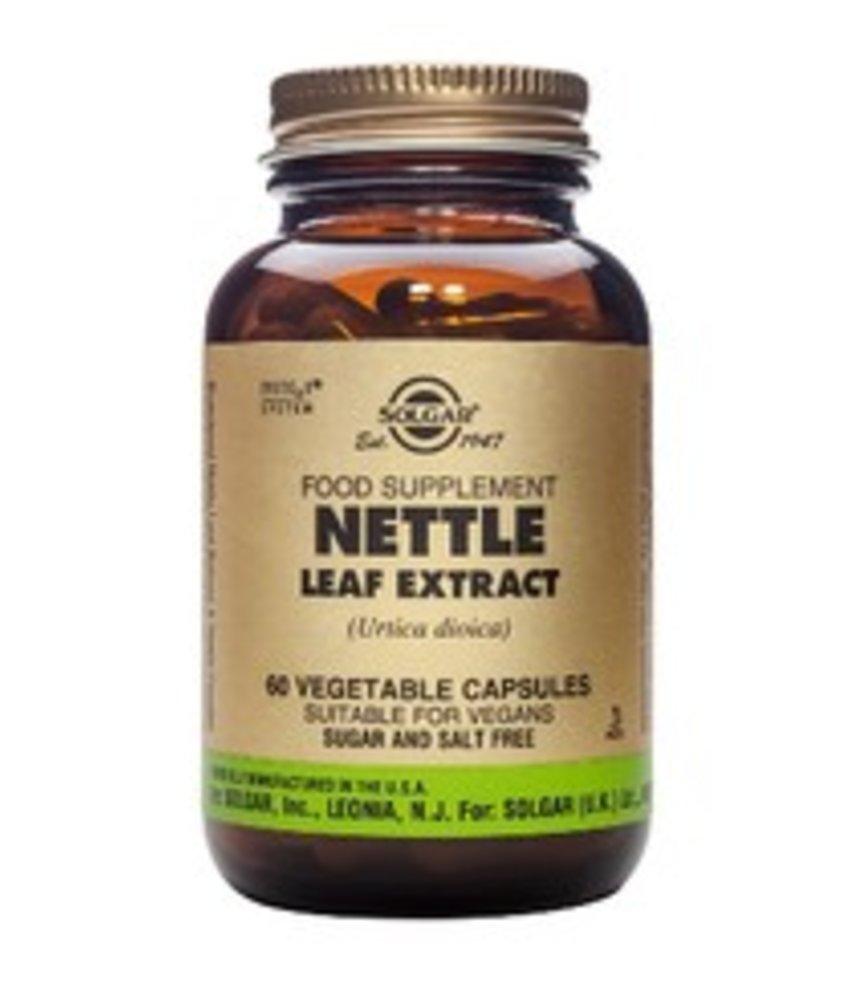 Solgar Nettle Leaf Extract brandnetel plantaardige capsules