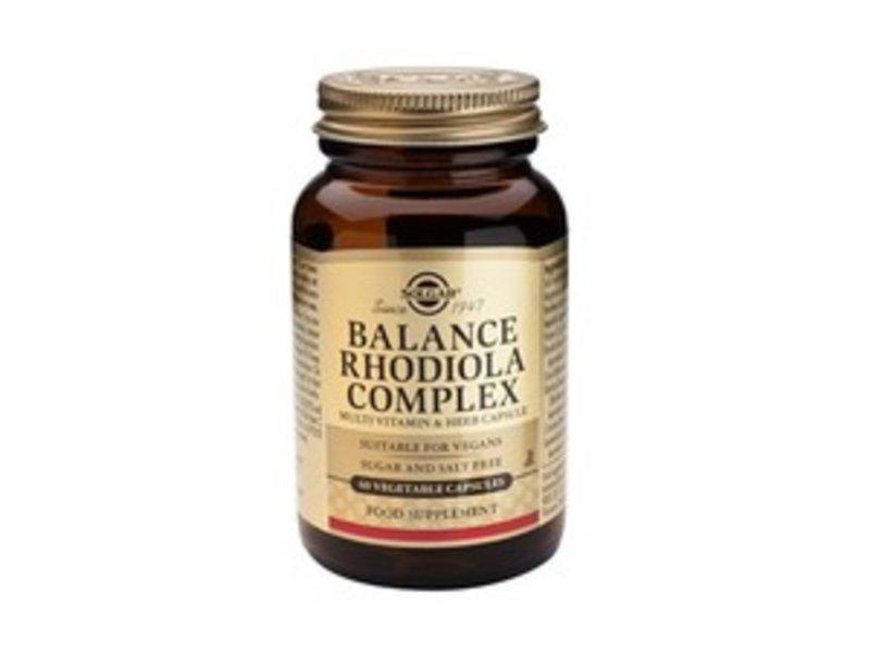 Solgar Balance Rhodiola Complex plantaardige capsules