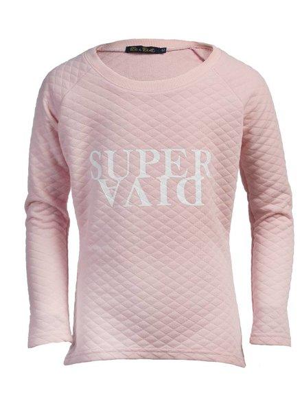 Be a Diva® Sweater Super Pink