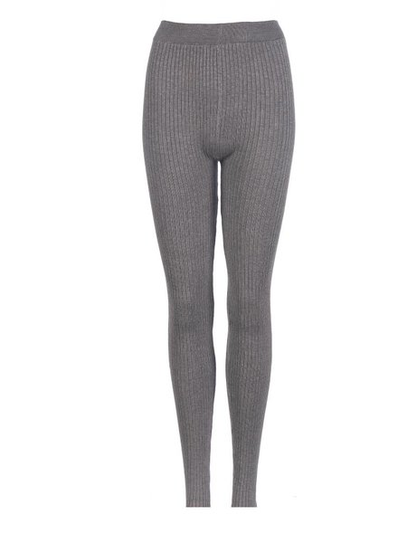 Be a Diva® Legging Rib Uni Grey