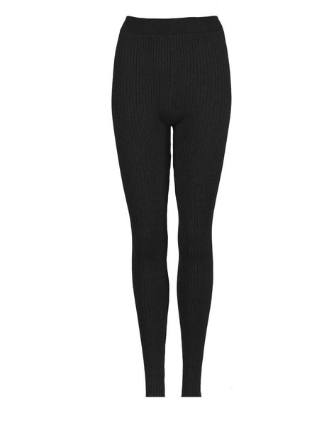 Be a Diva® Legging Rib Uni Black