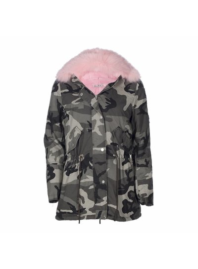 Be a Diva® Coat Pacha Pink