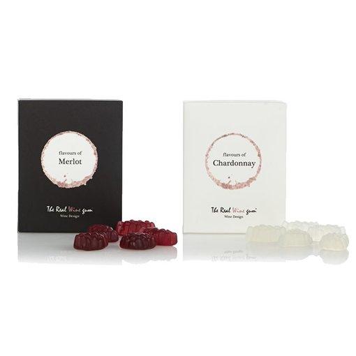The Real WINE gum duo Chardonnay & Merlot