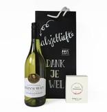 Cadeaupakket Chardonnay met real WINE gums chardonnay