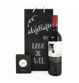 Cadeaupakket Merlot met real WINE gums Merlot