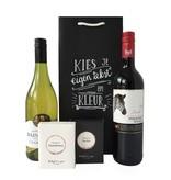 Cadeaupakket Chardonnay/ Merlot met real WINE gums