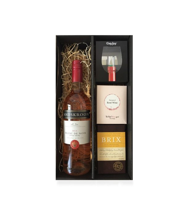 Cadeaubox Rosé, chocolate & sweets deluxe