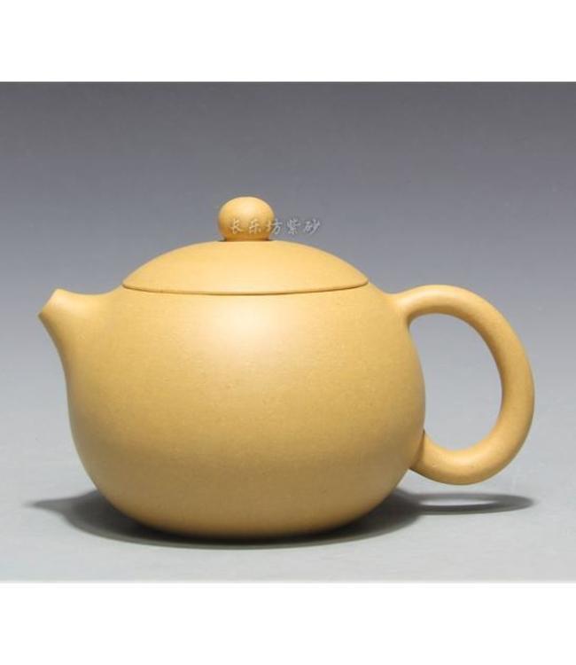 Yixing Duanni Xishi tea pot (195 cc, globe screen)