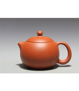 Yixing Zhuni Xishi tea pot (180 cc, globe screen)