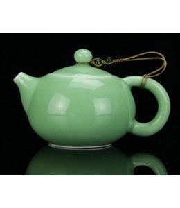 Longquan Celadon Turquoise Teekännchen (140 ml, Kugelsieb)