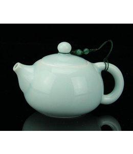 Longquan Celadon Blue Teekännchen (140ml, Kugelsieb)