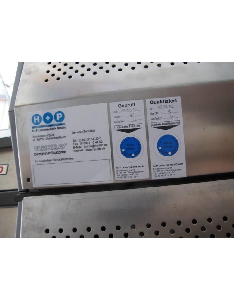 HP-Med Autoklav H+P Varioklav 75S (mit fraktioniertem Vorvakuum)