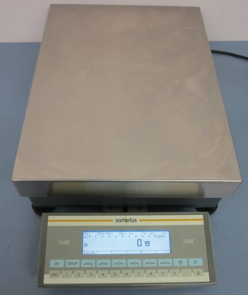 Sartorius Refurbished Sartorius LA34-OCE Precision Balance (Max. 34 kg, d=1 g)
